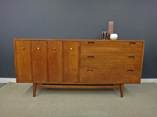 American of Martinsville mid century credenza