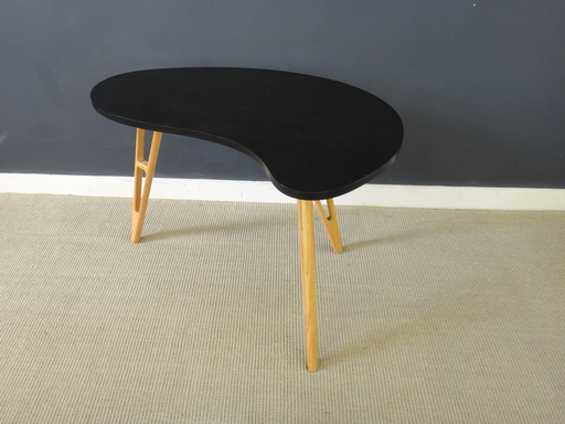Mid Century kidney shaped end table