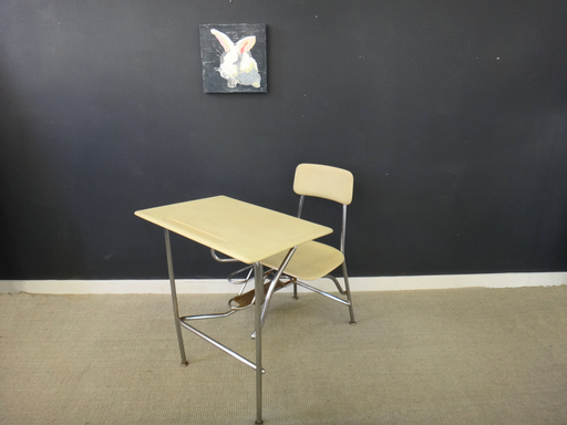 Vintage Heywood Wakefield School Desk/Chair Combo