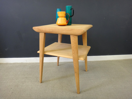 Heywood Wakefield maple side table