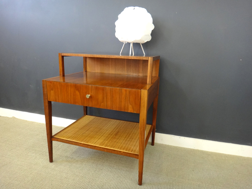 Mid Century Walnut Side Table