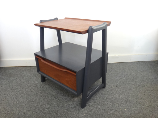 Updated Mahogany Side Table