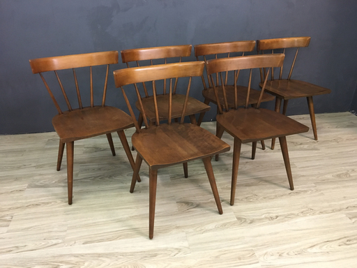 Paul McCobb Spindle Back Dining Chairs