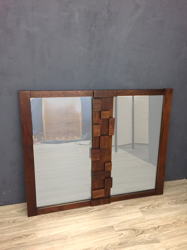 SALE  Lane Brutalist quotMosaicquot Mirror