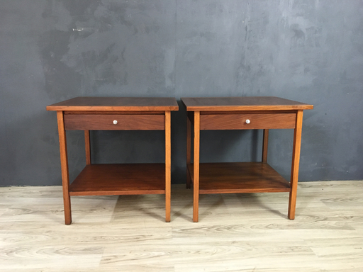 Pair of Paul McCobb Side Table for Lane