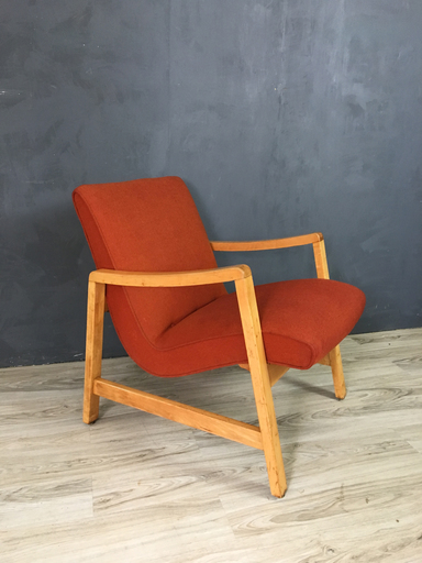 Jens Risom Upholstered Lounge Chair