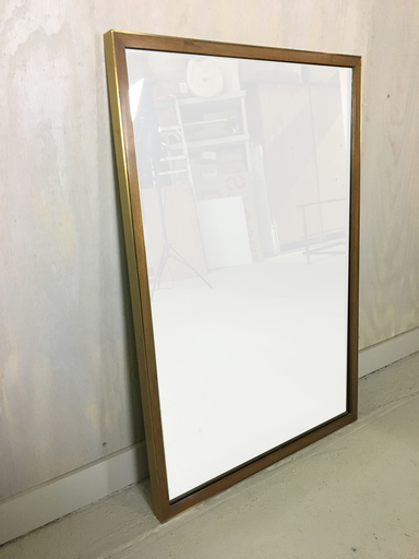 Paul McCobb for Calvin Brass nbspand Mahogany Framed Mirror