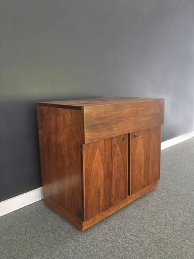 Rosewood Bar Cabinet by Bruksbo of Norway