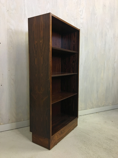 Danish Rosewood Bookshelf by Hundevad