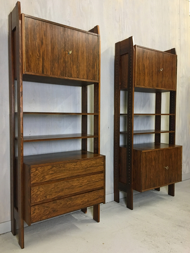 Rosewood Wall Unit Boston