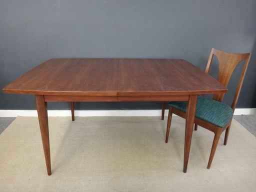 Mid Century Broyhill Saga Dining Table