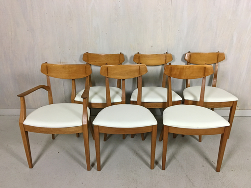 Drexel Sun Coast Dining Chairs by Kipp Stewart