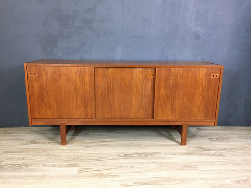 Danish Teak Credenza For Sale : Retrocraft design
