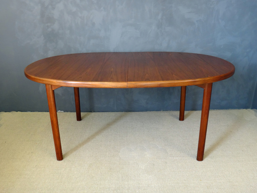 On Sale - Dux Danish Modern Oval Teak Dining Table