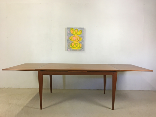 Danish Modern Teak Extension Table