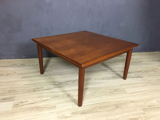Danish Modern Teak Side Table by Fabian