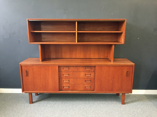 Dansh Modern Teak Wall Unit nbspBoston