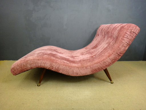 Adrian Pearsall Double Wave Chair