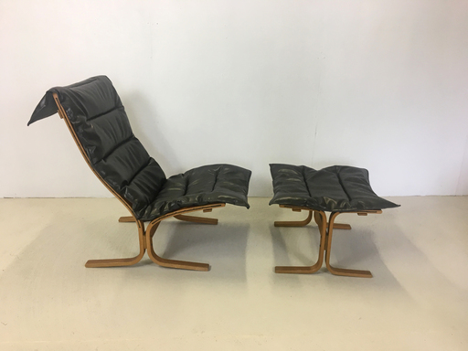 Westnofa Sling Lounge Chair with Ottoman