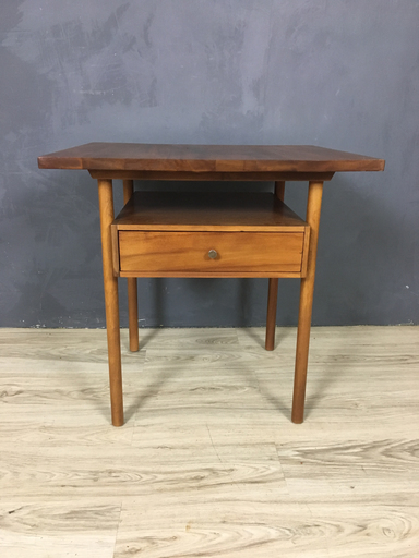 Walnut Side Table by Whitney End Table Boston