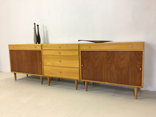 Trio of Workbench Cabinets
