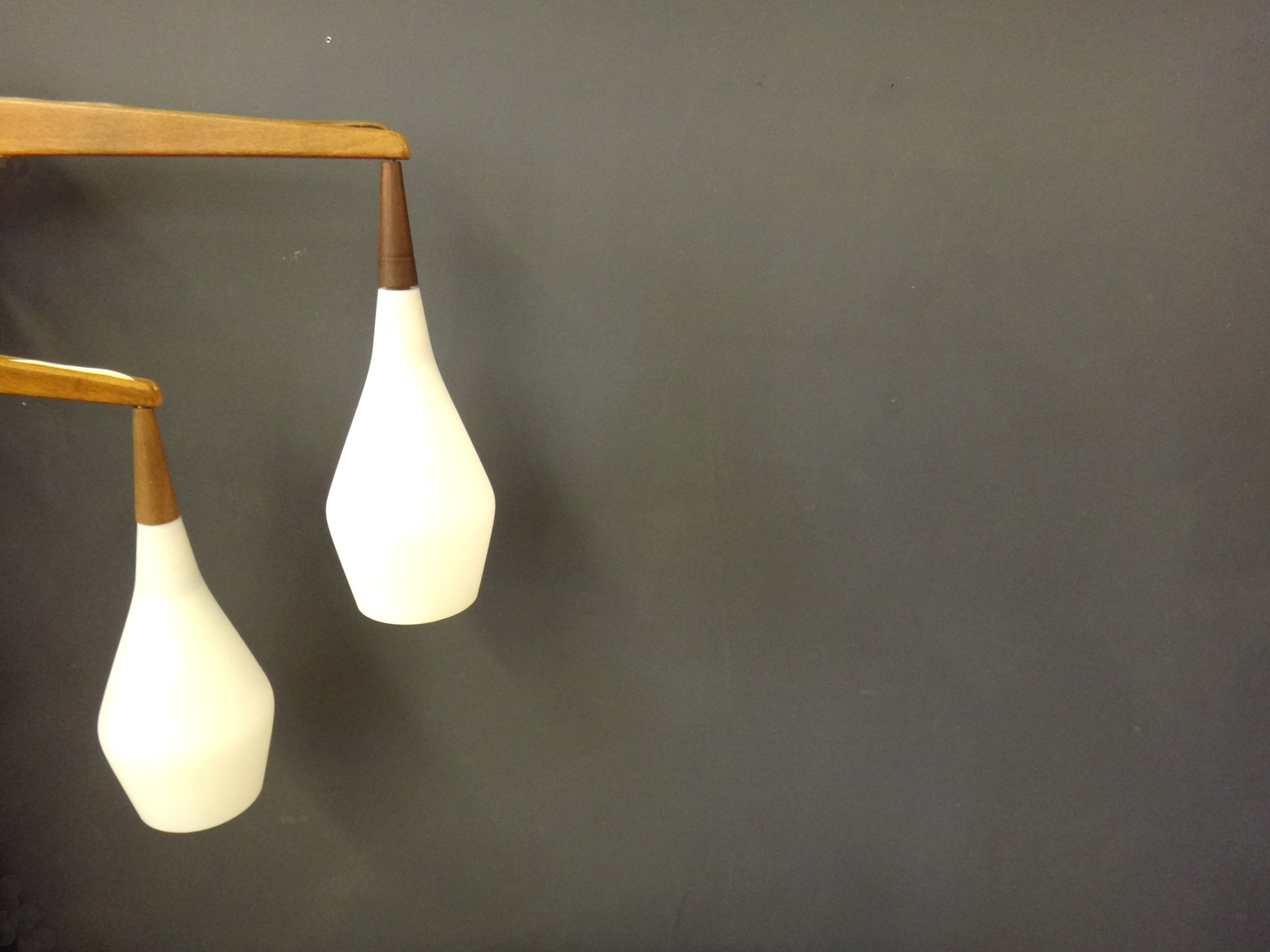 Pair of Mid Century Wall Lamps