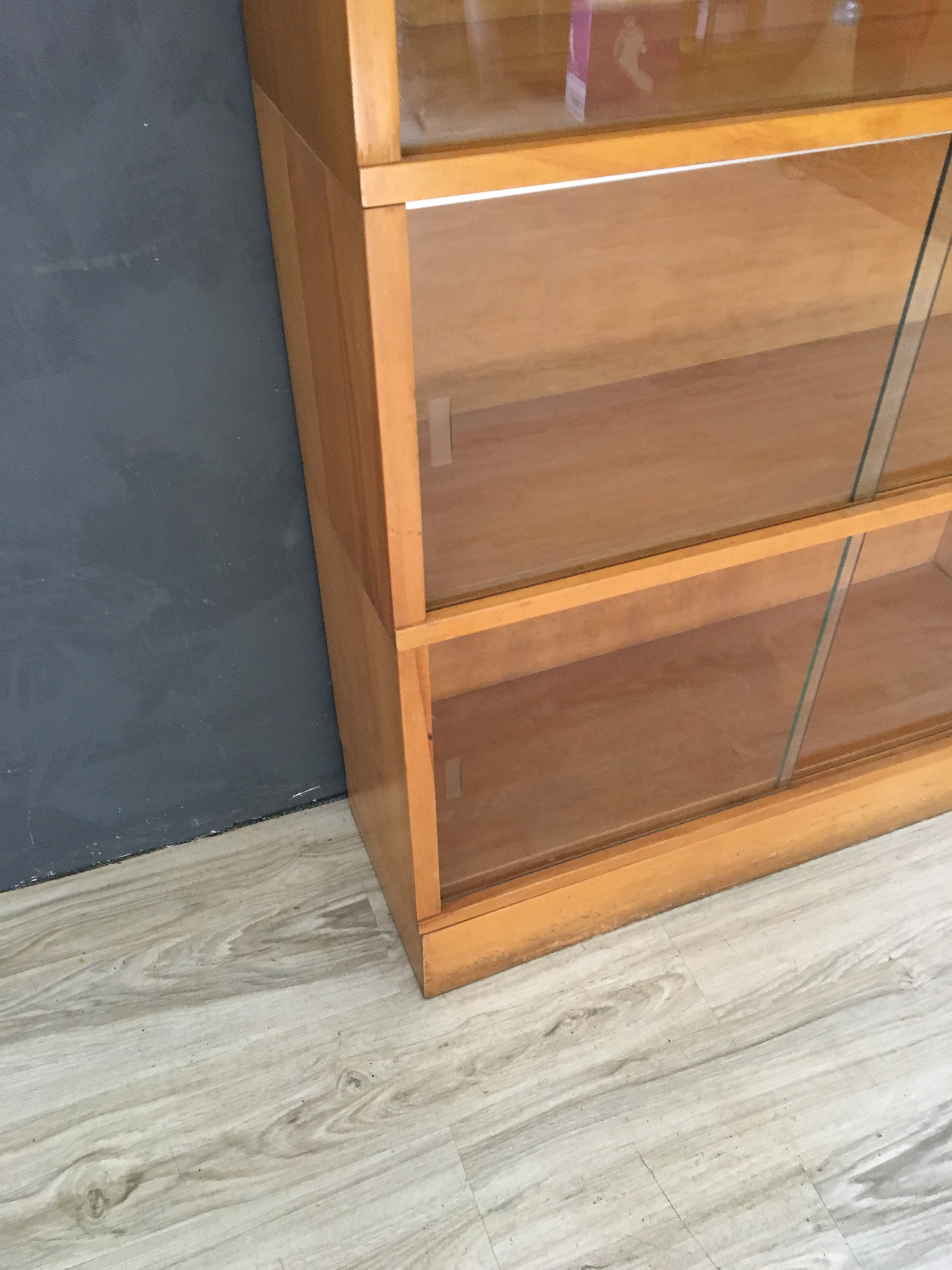 Mid Century Modern Barrister Bookcase
