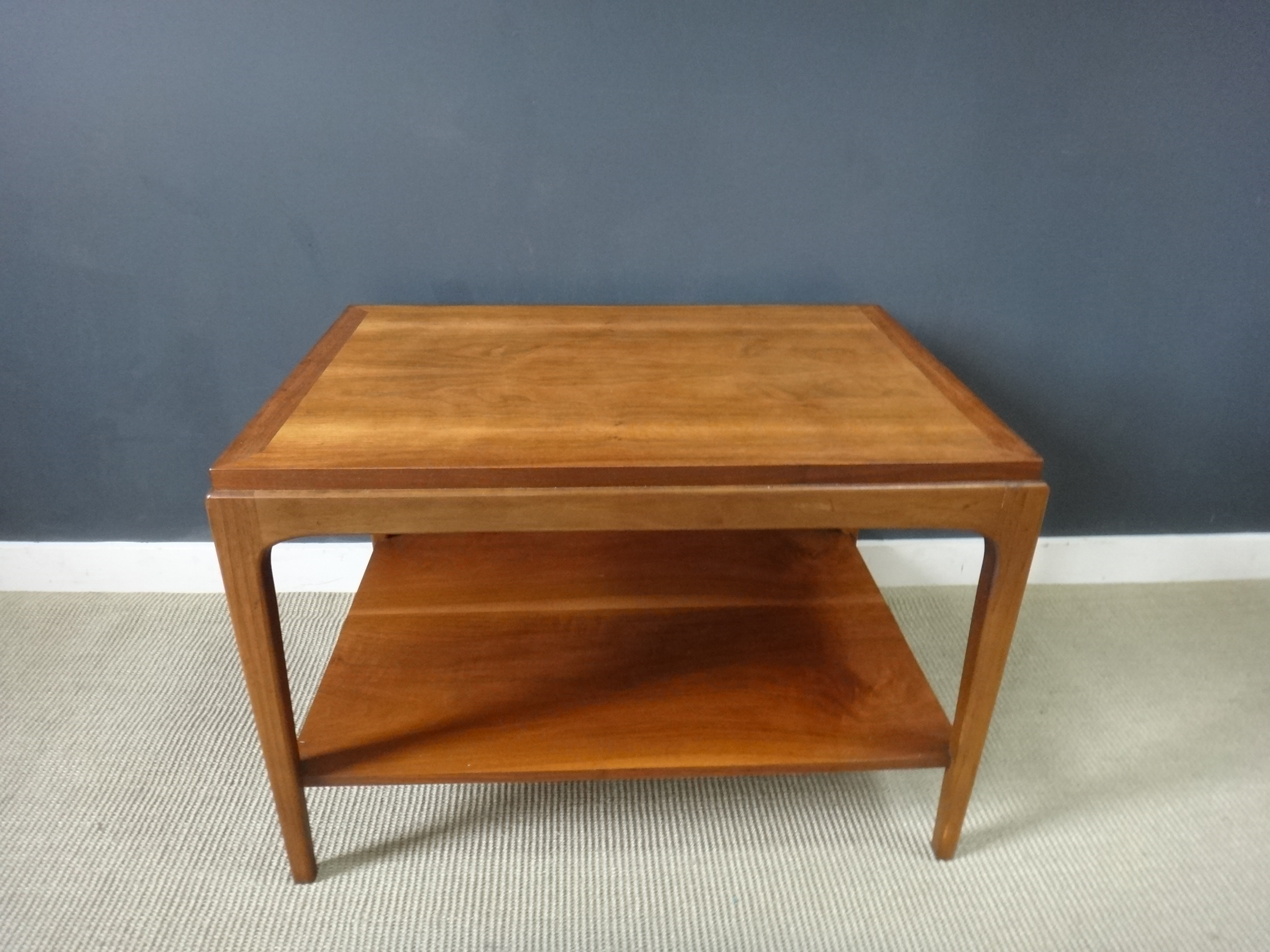 ... Mid Century Lane End Table With Shelf ...