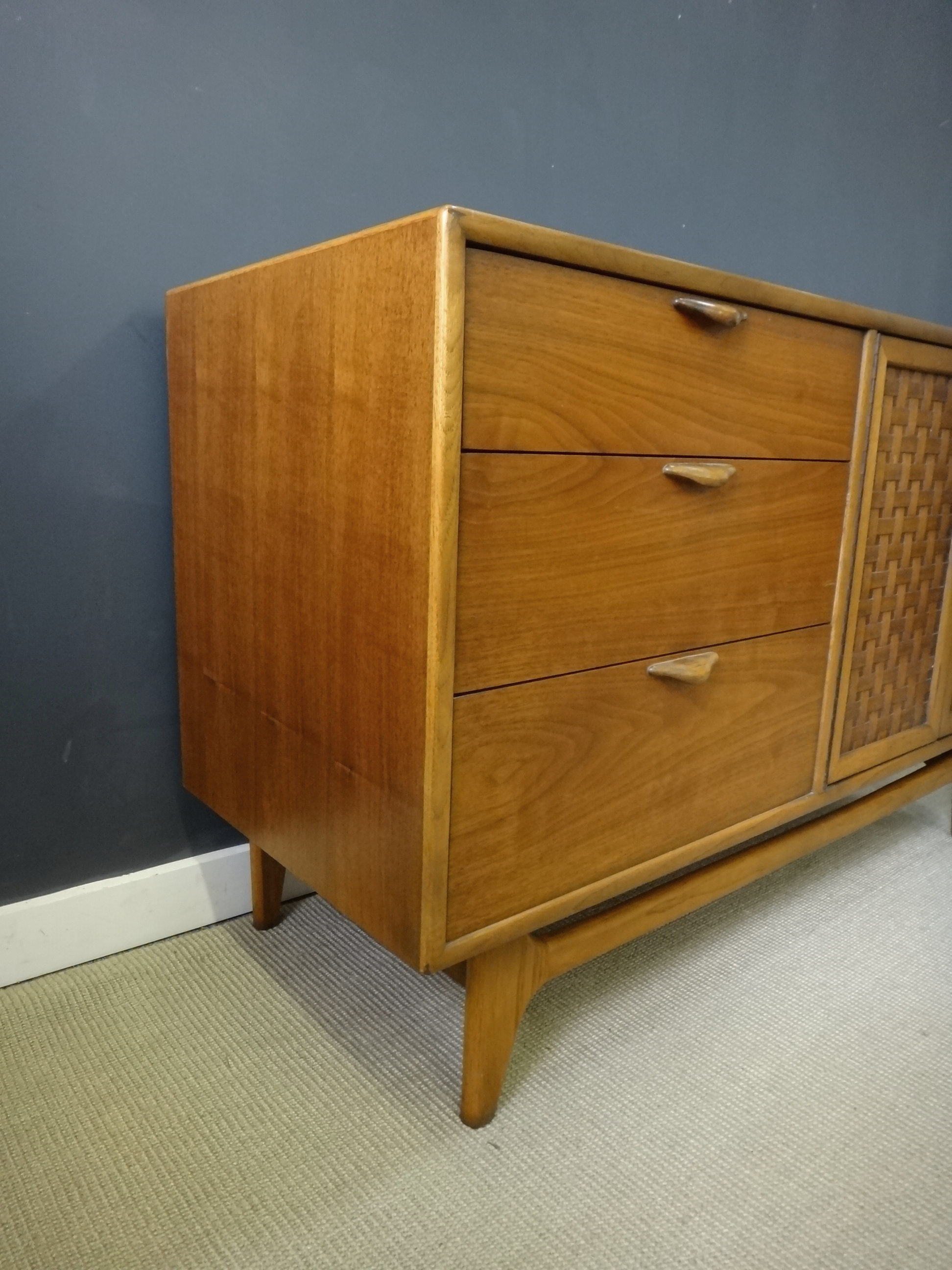 Lane Perception Credenza with Shelf Unit