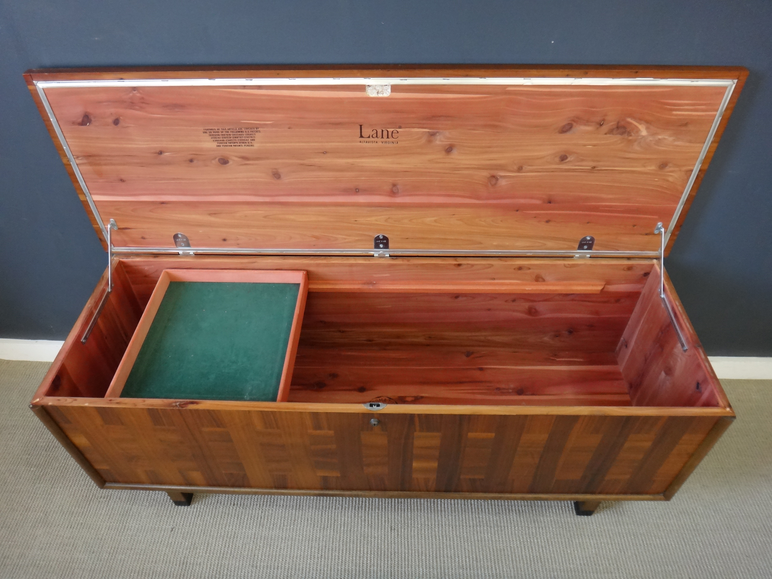 Mid Century Lane Cedar Chest
