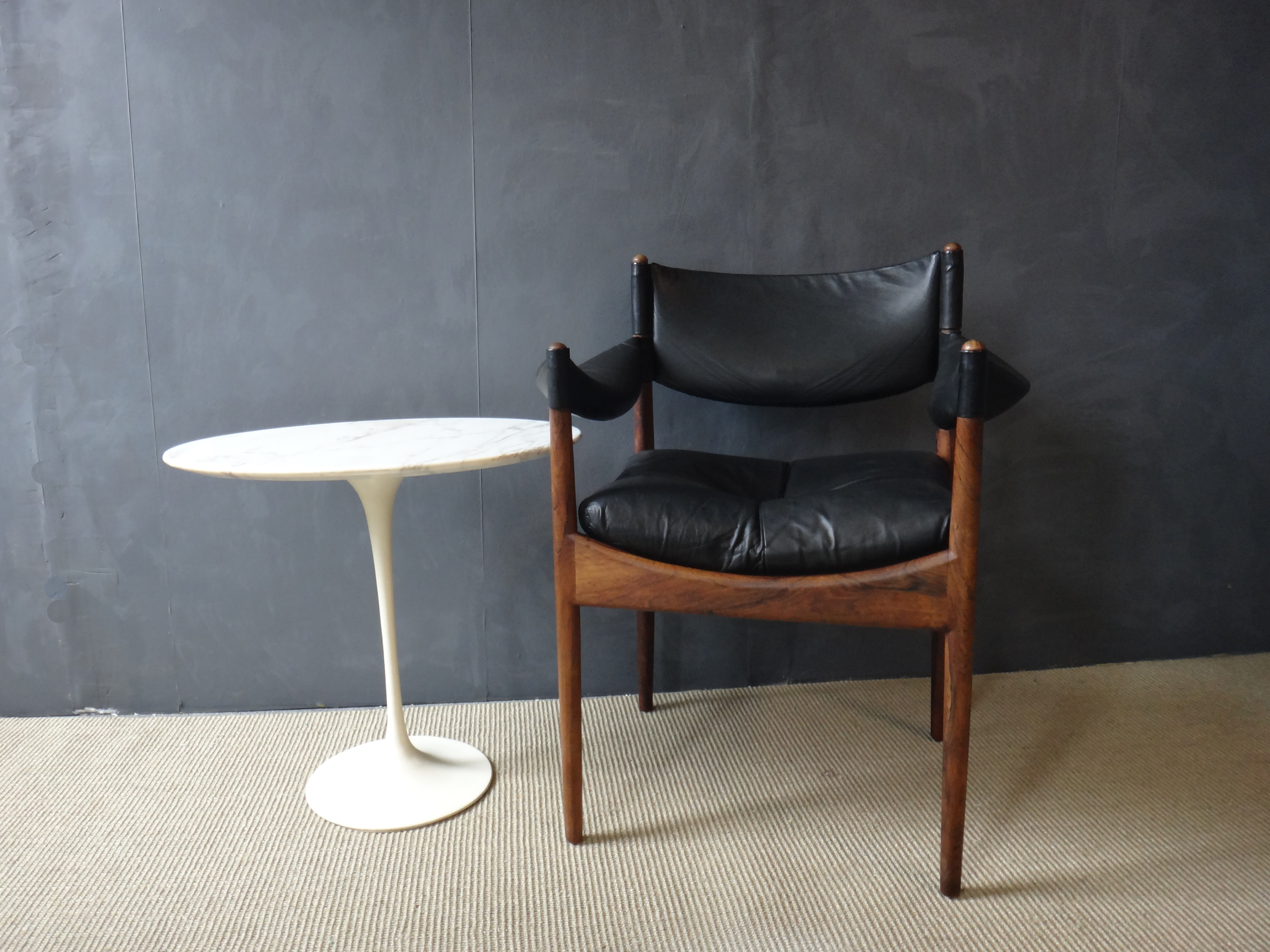 Saarinen Marble Top Tulip Side Table