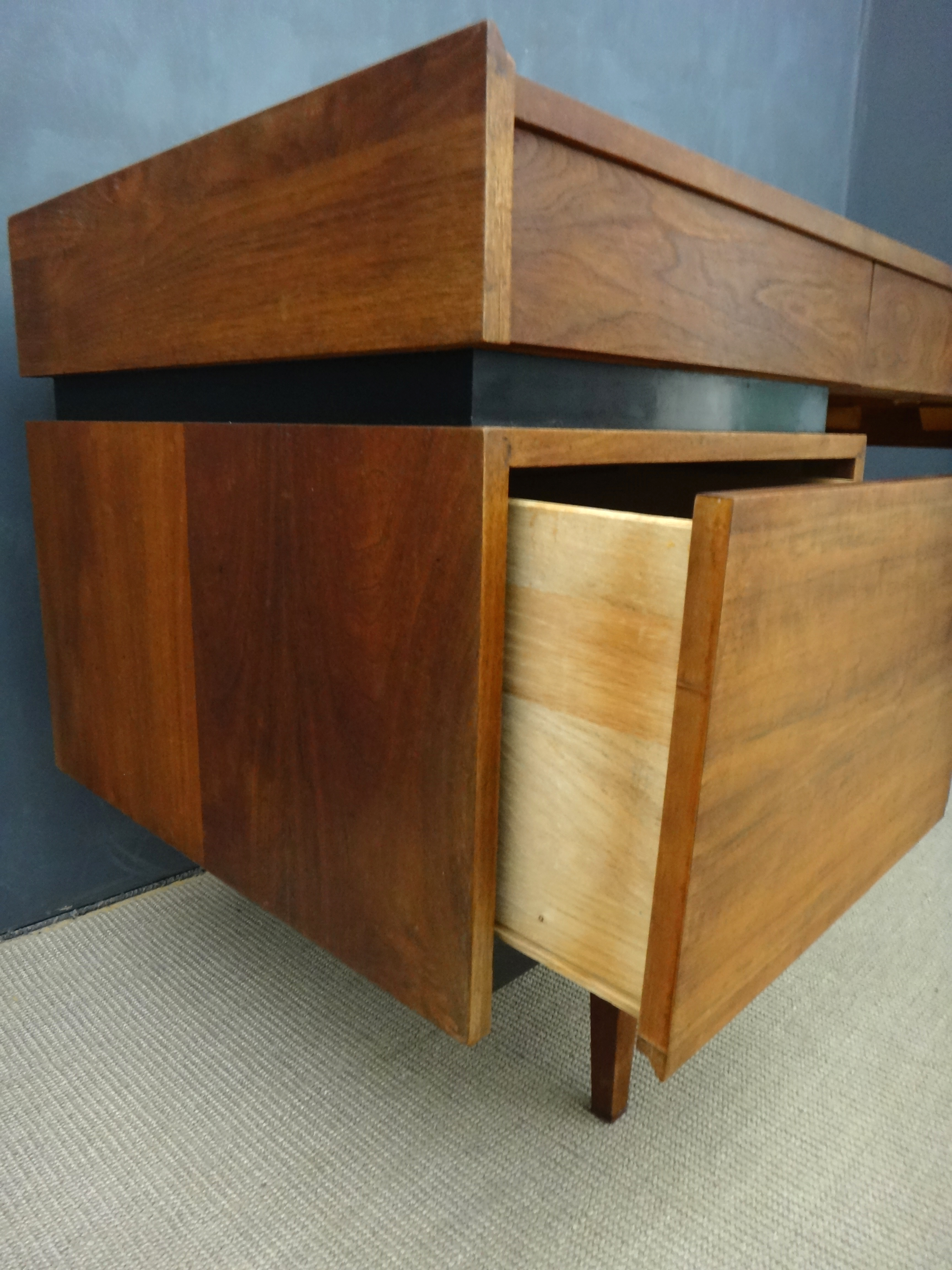 Dillingham Floating Walnut Desk