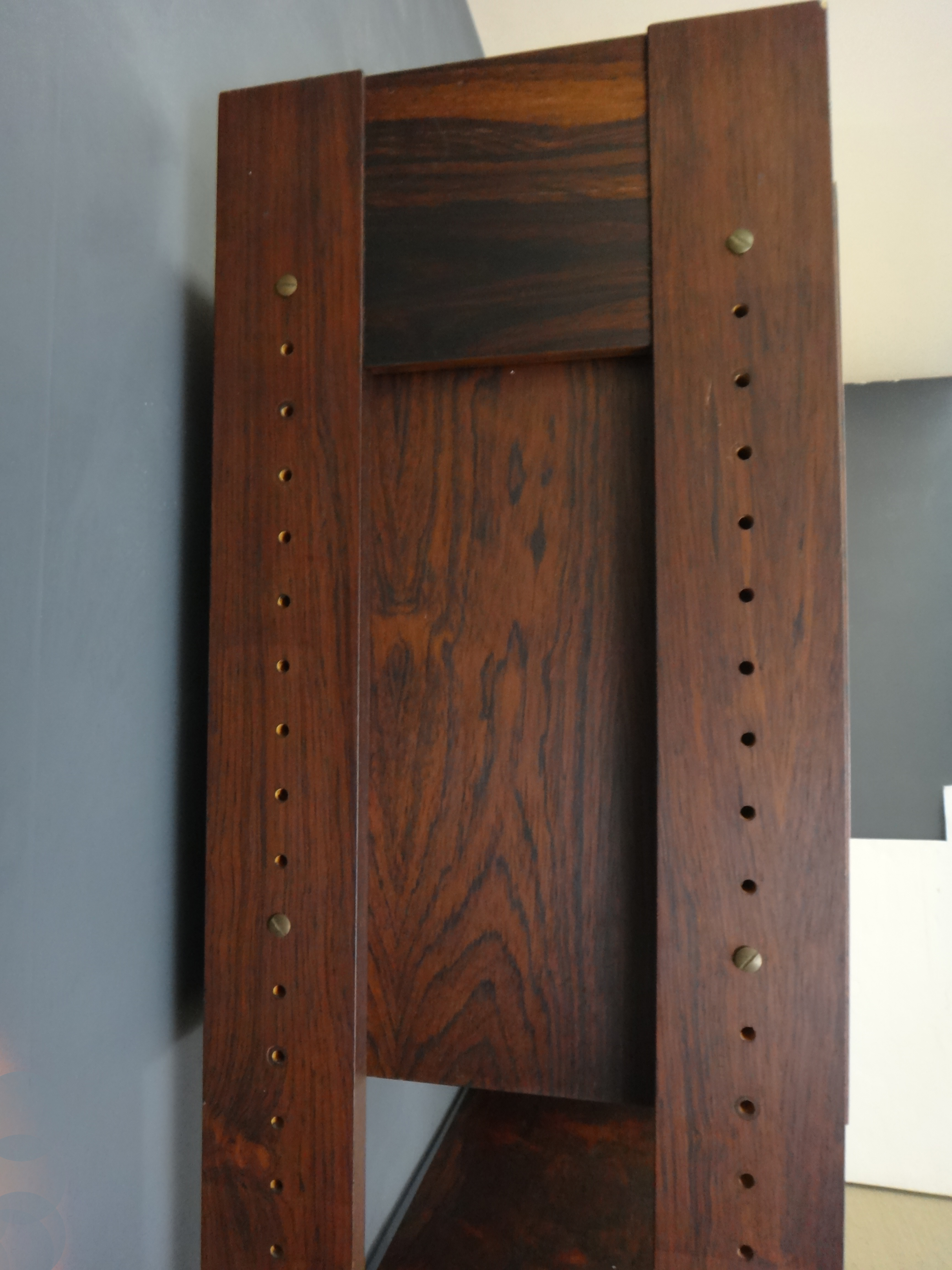 Danish Modern Rosewood Modular Wall Unit