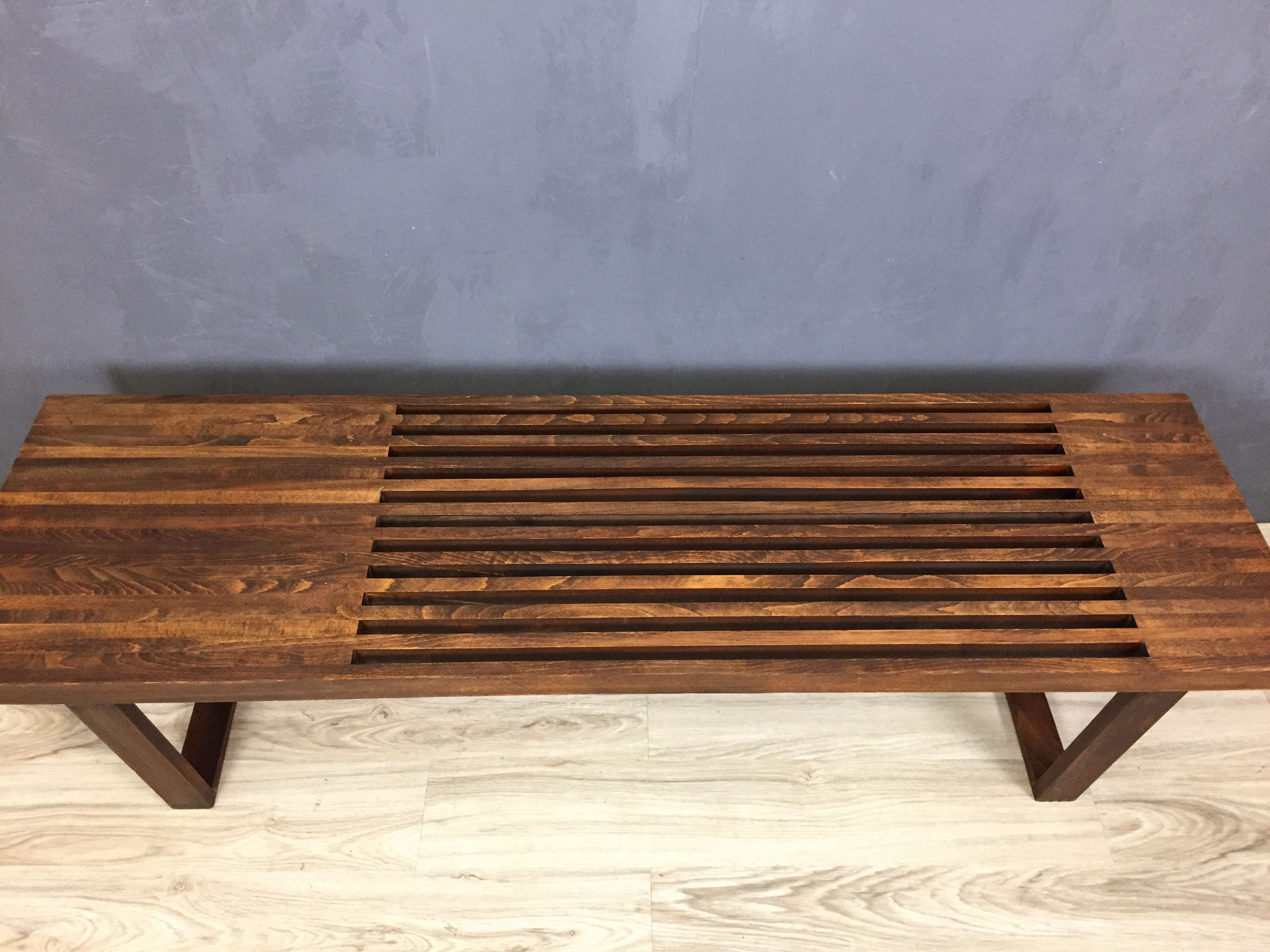 George Nelson Style Bench