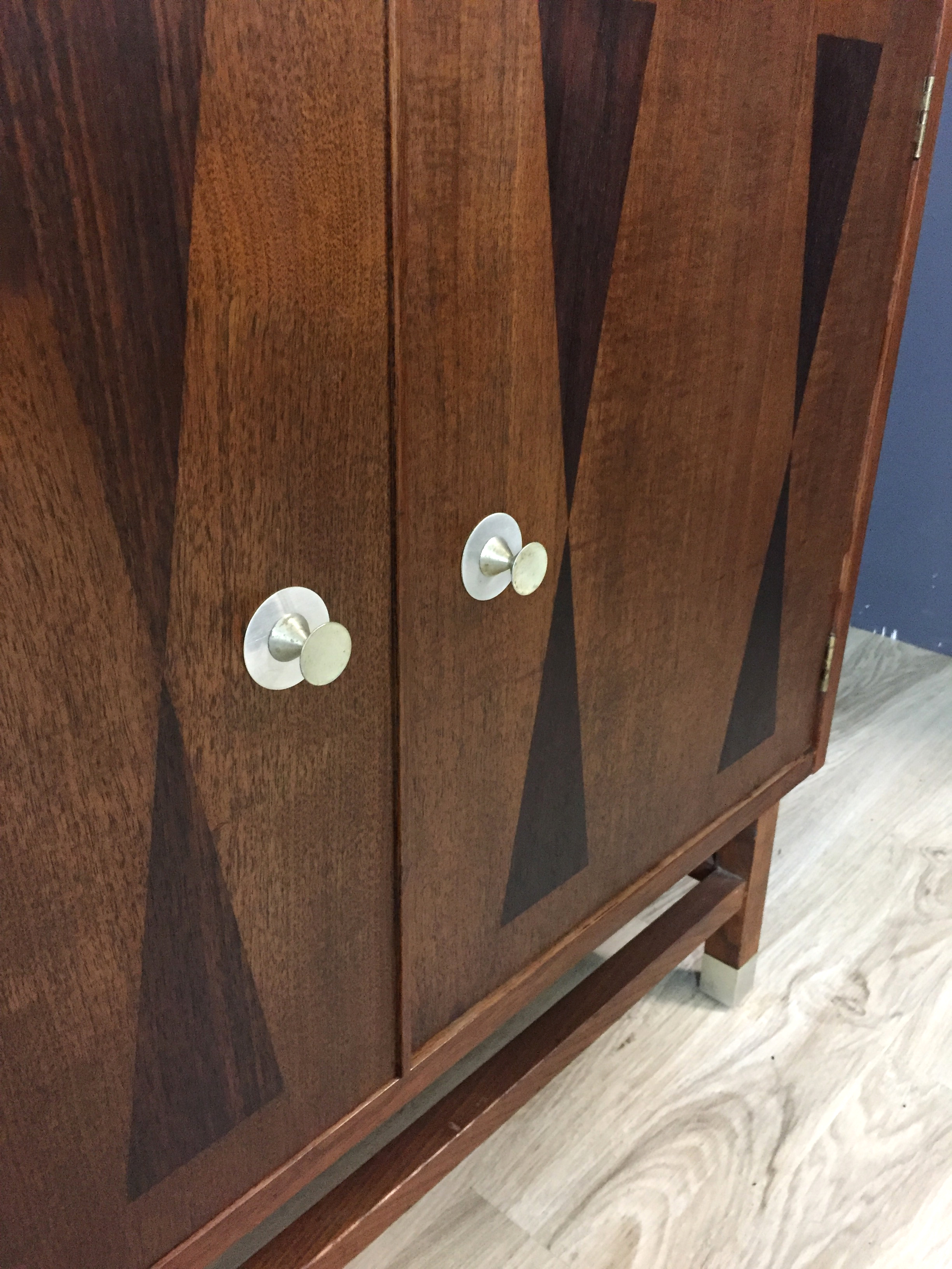 Stanley Wall Unit with Rosewood Inlay