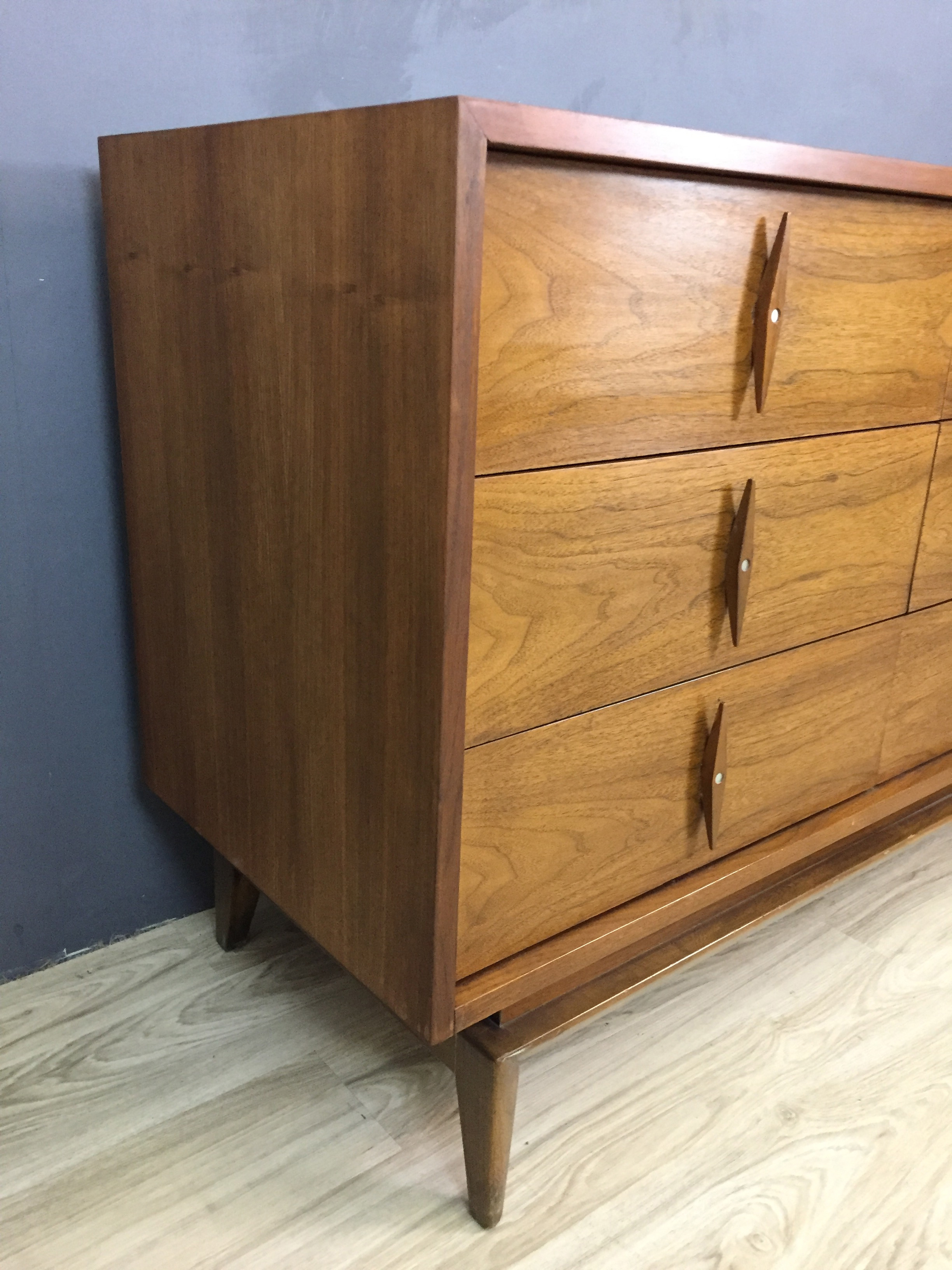 American of Martinsville Walnut Bureau