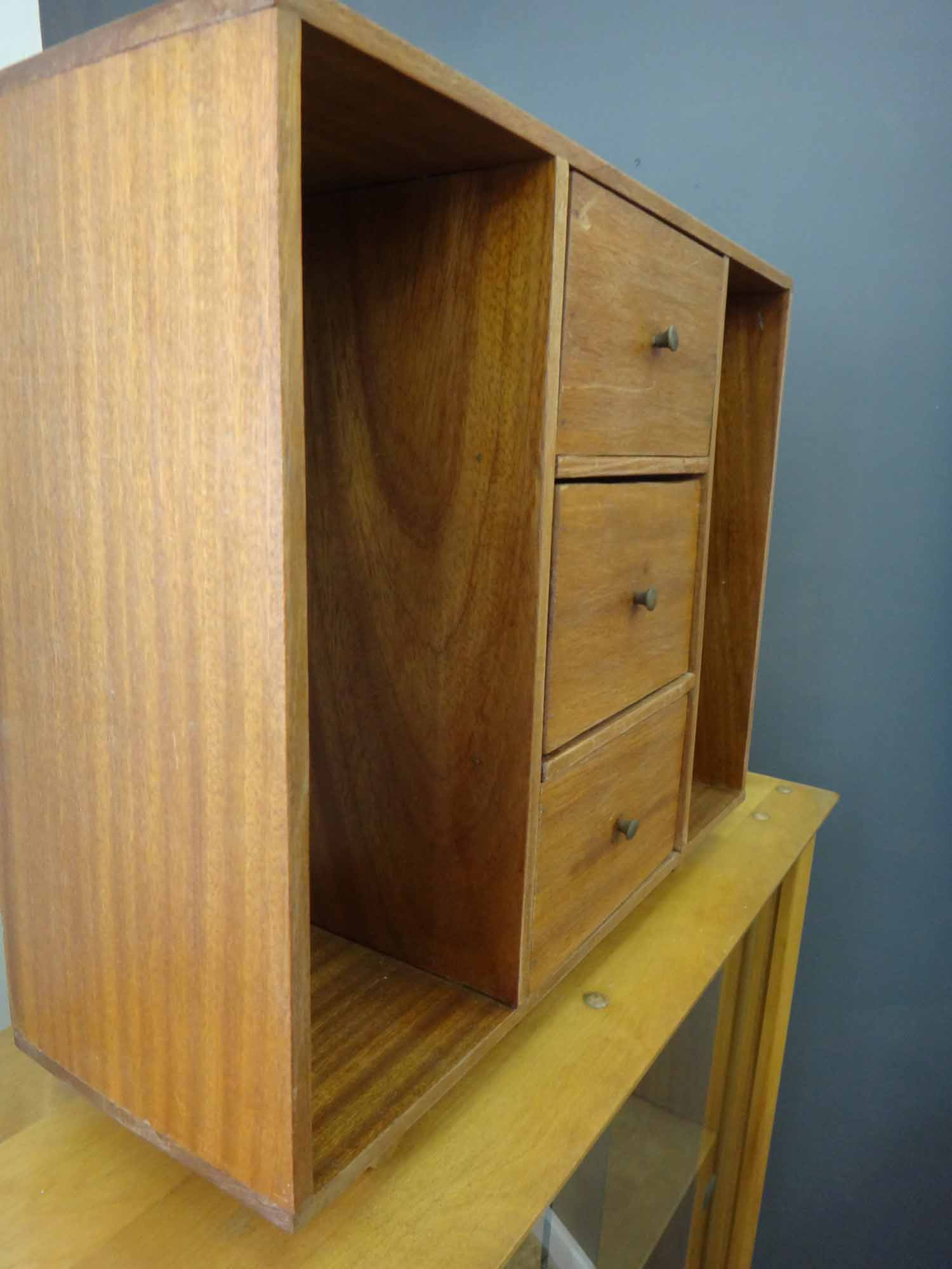 Handmade Teak Display Case