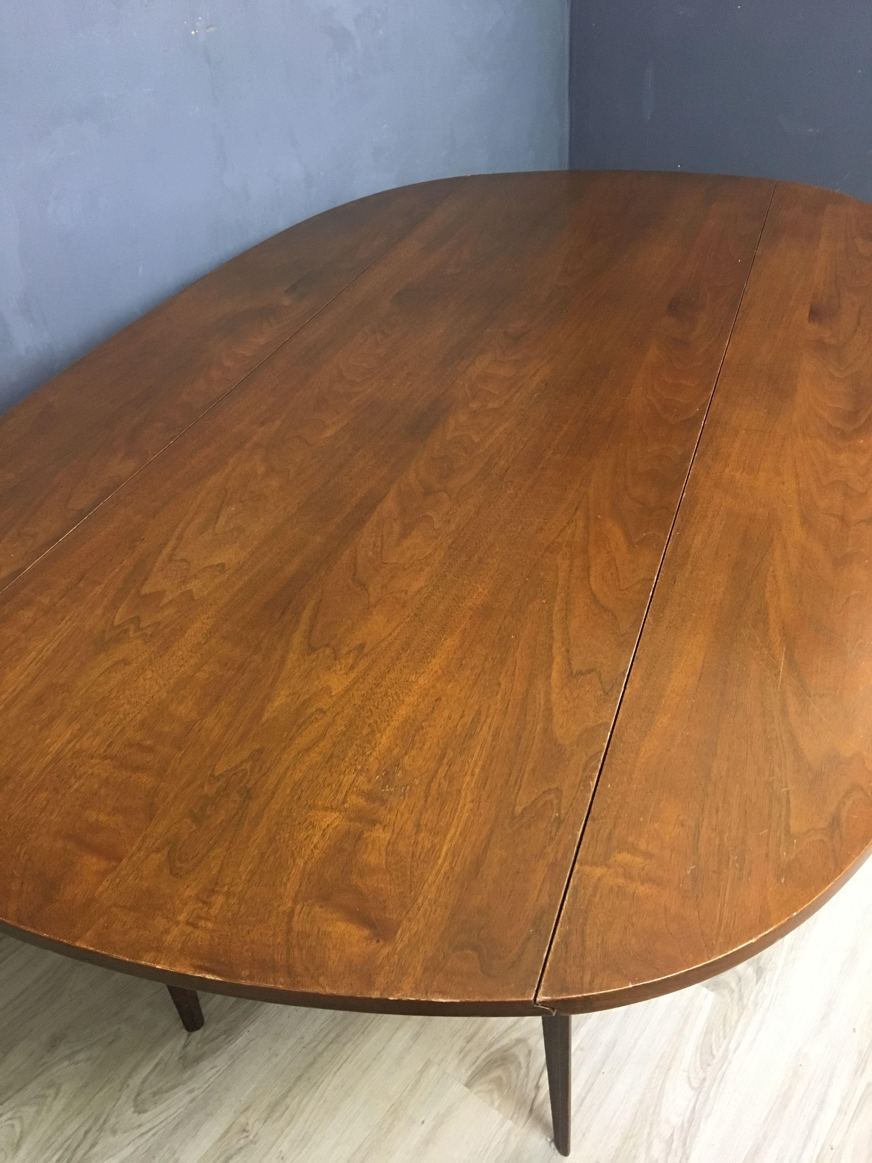 Broyhill Brasilia Walnut Drop Leaf Dining Table