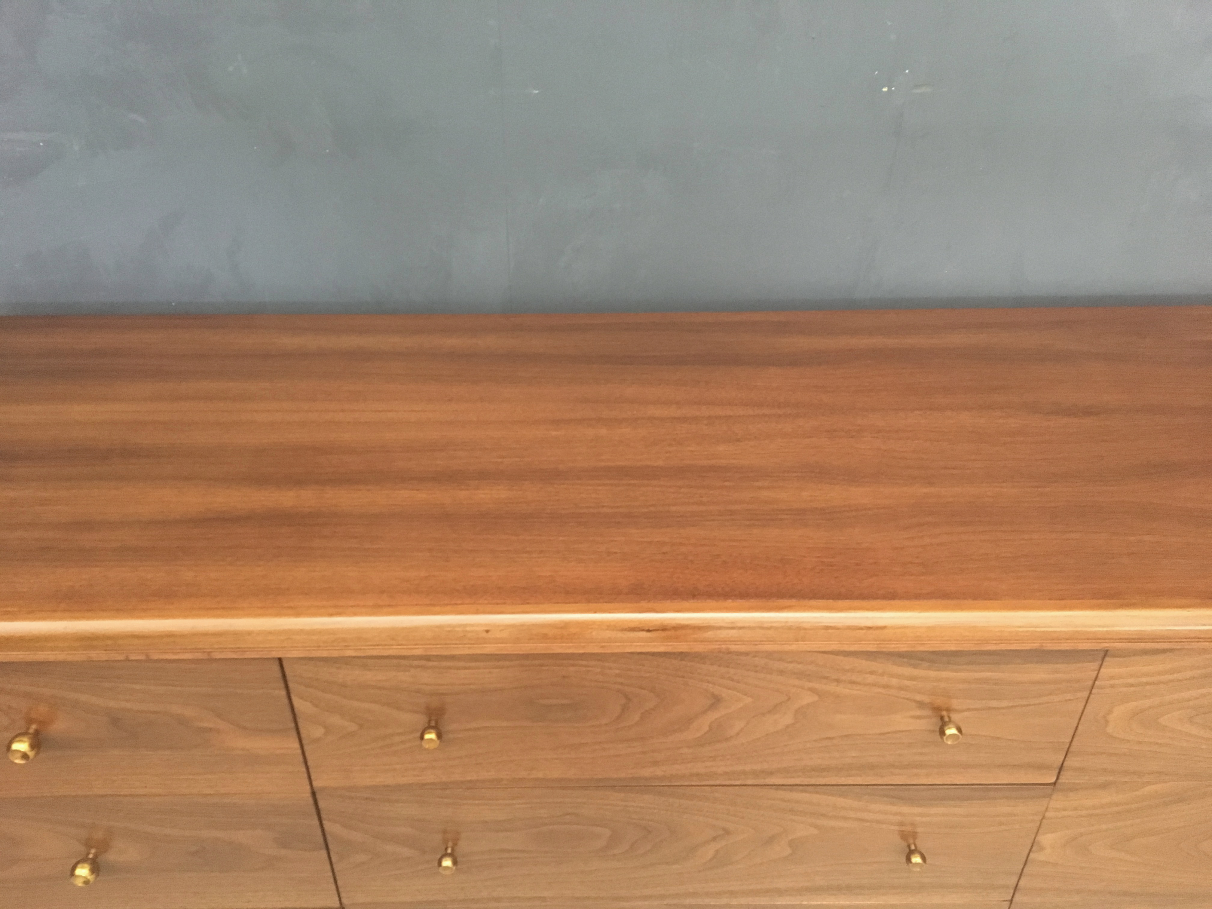 Kent Coffey Walnut Lowboy Bureau