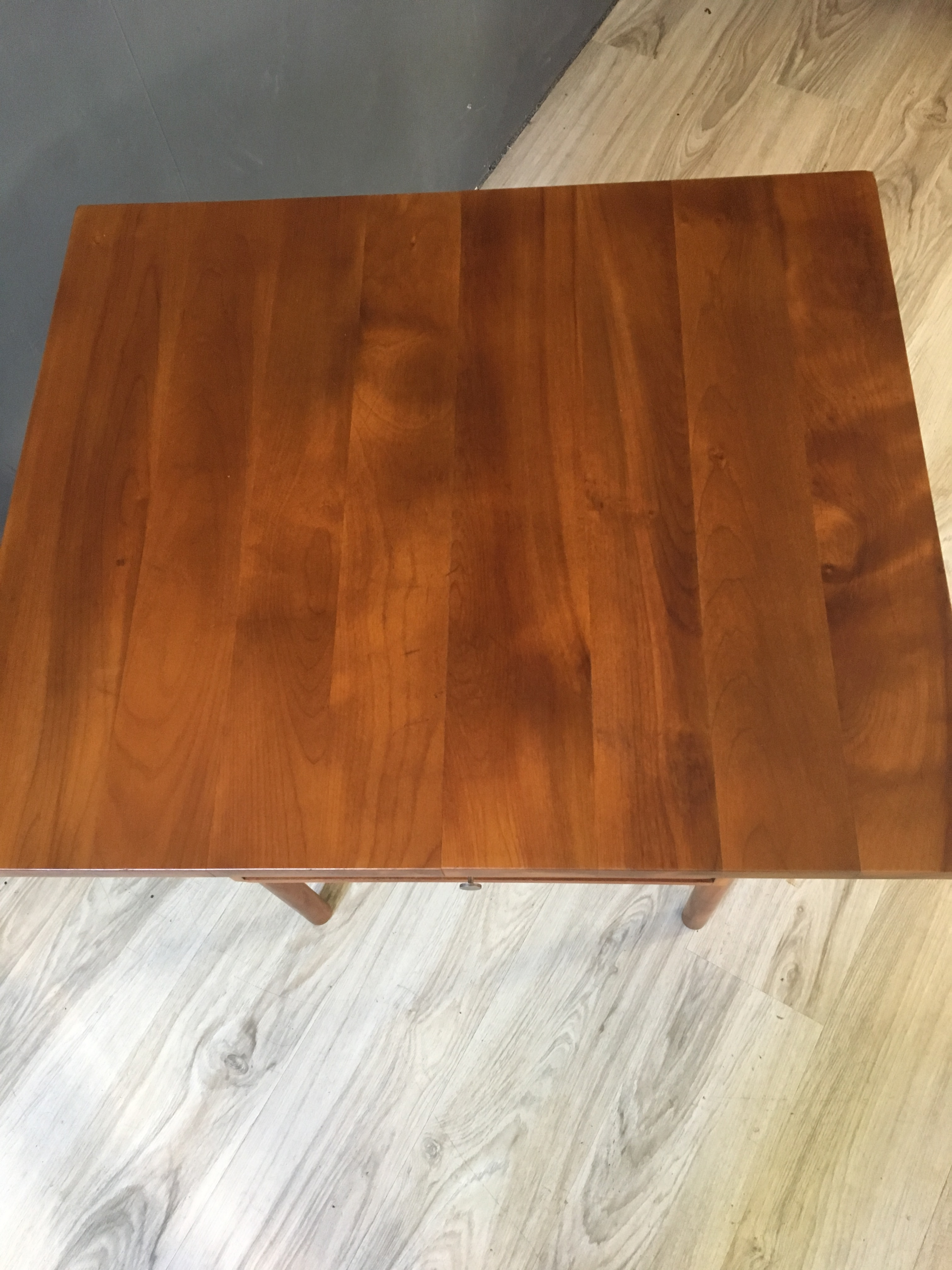 Unique Walnut Side Table by Whitney