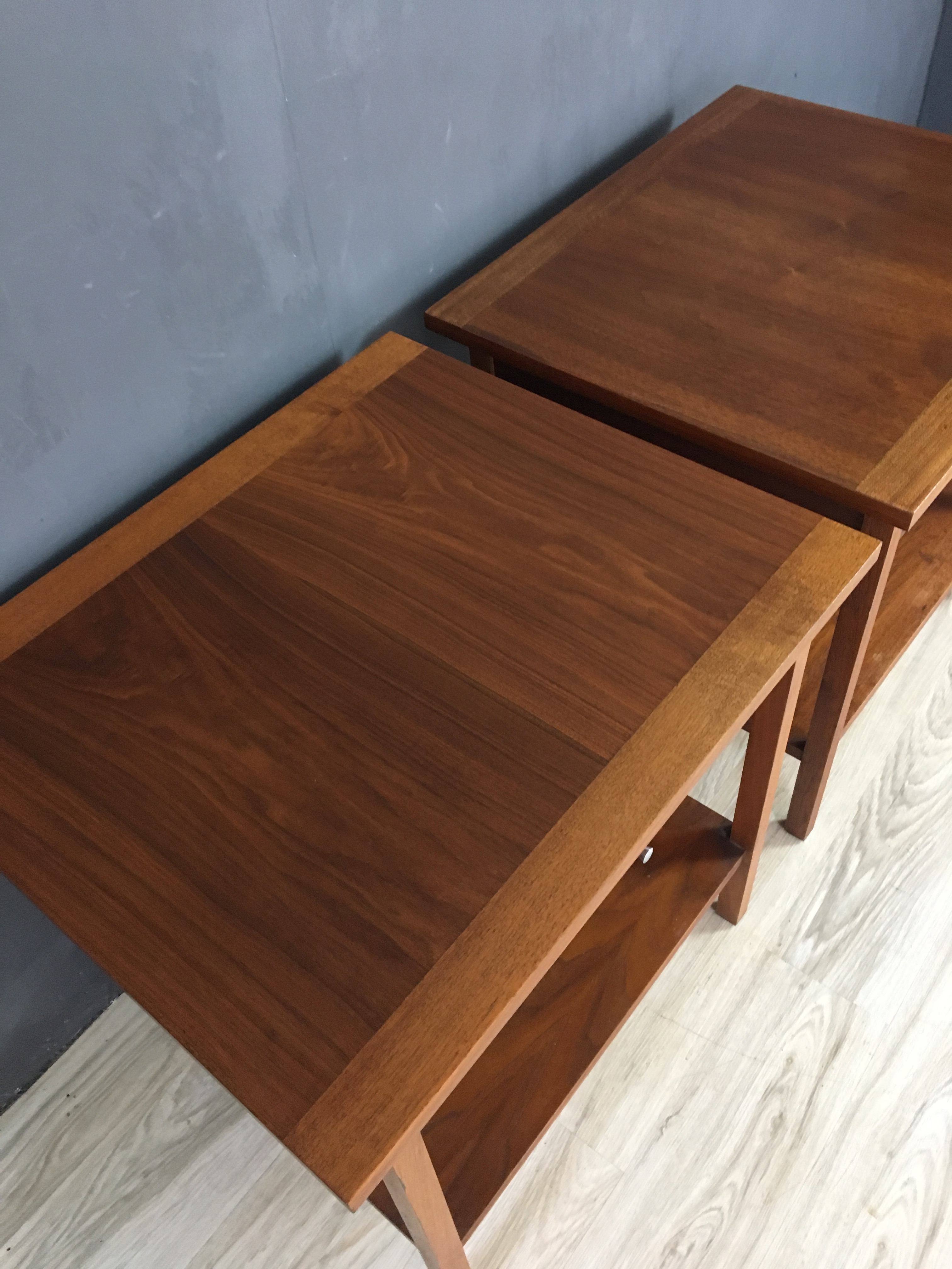 Pair of Paul McCobb Side Tables for Lane