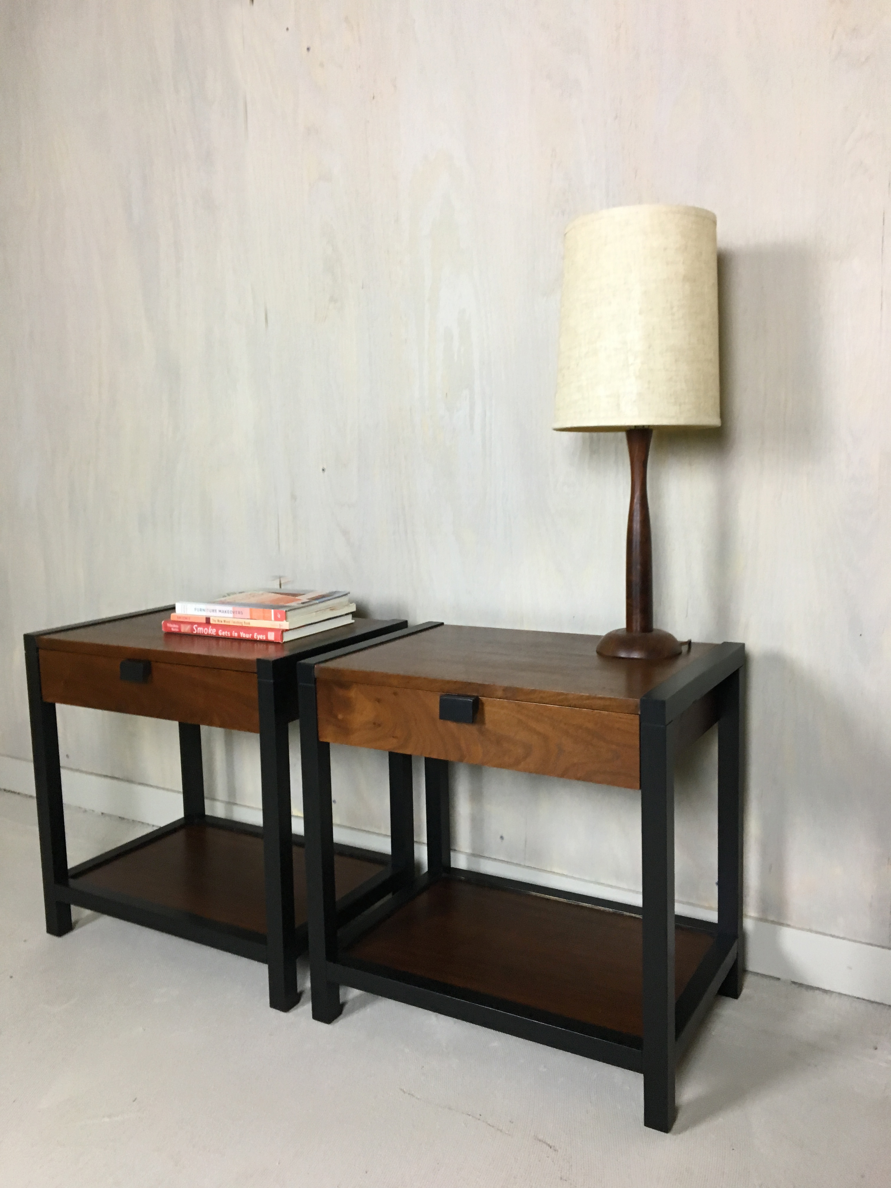 Milo Baughman for Directional End Tables