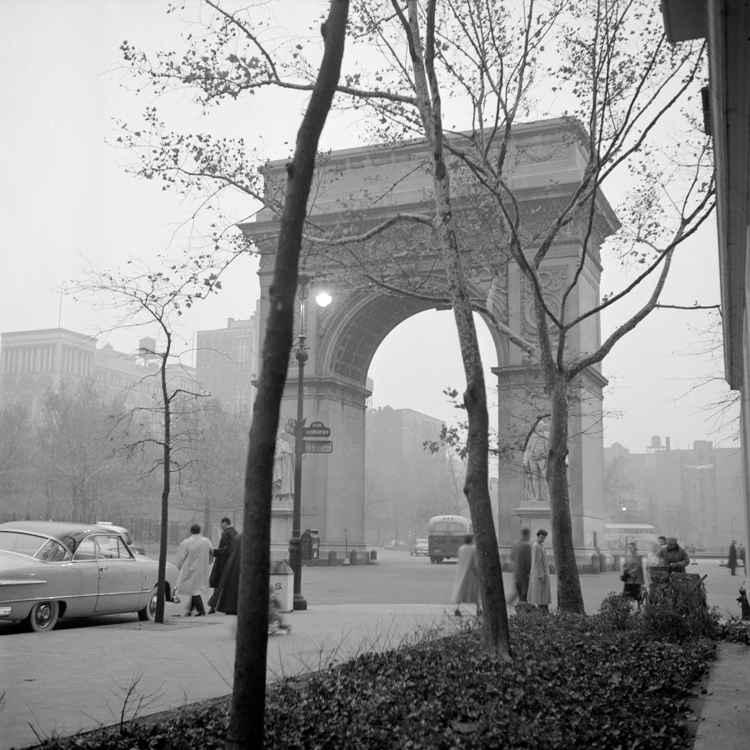 B&W Photographs of Mid Century NYC