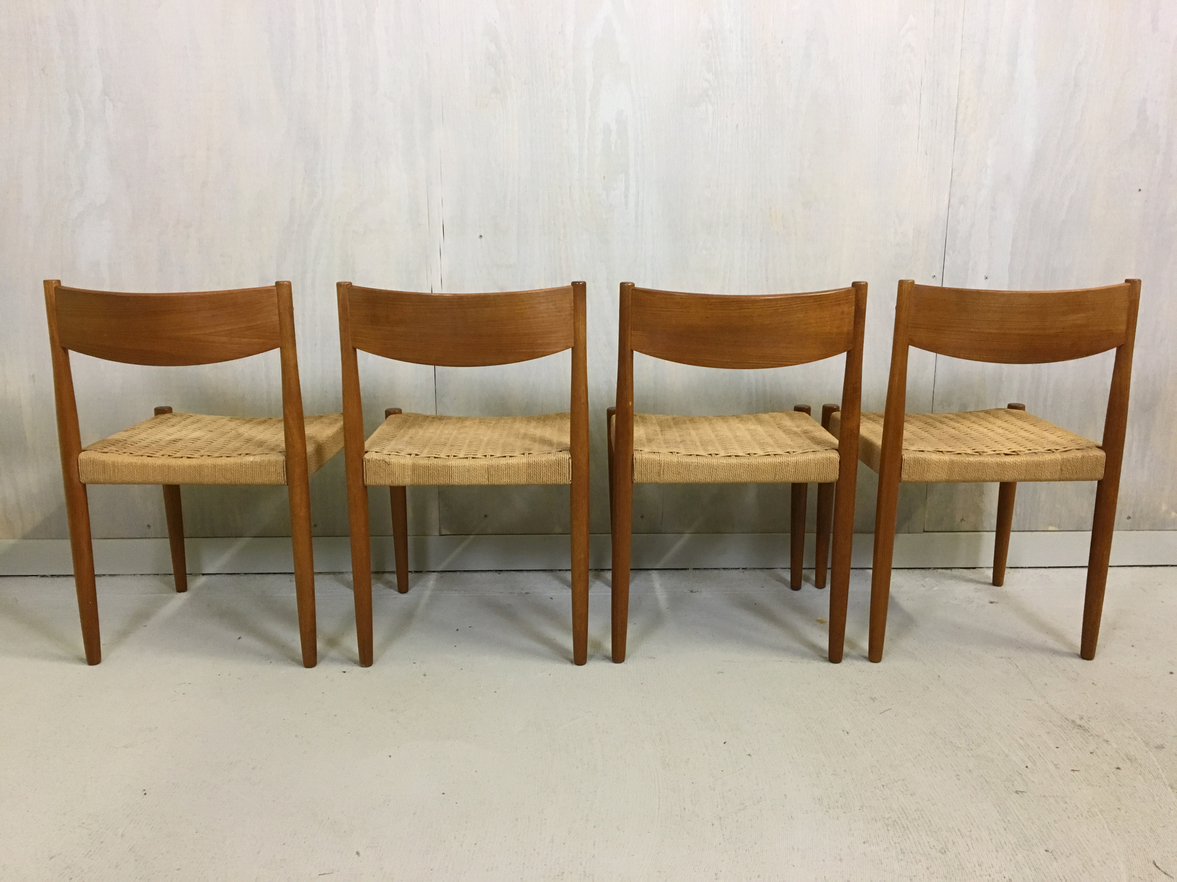 Poul Volther Danish Modern Dining Chairs