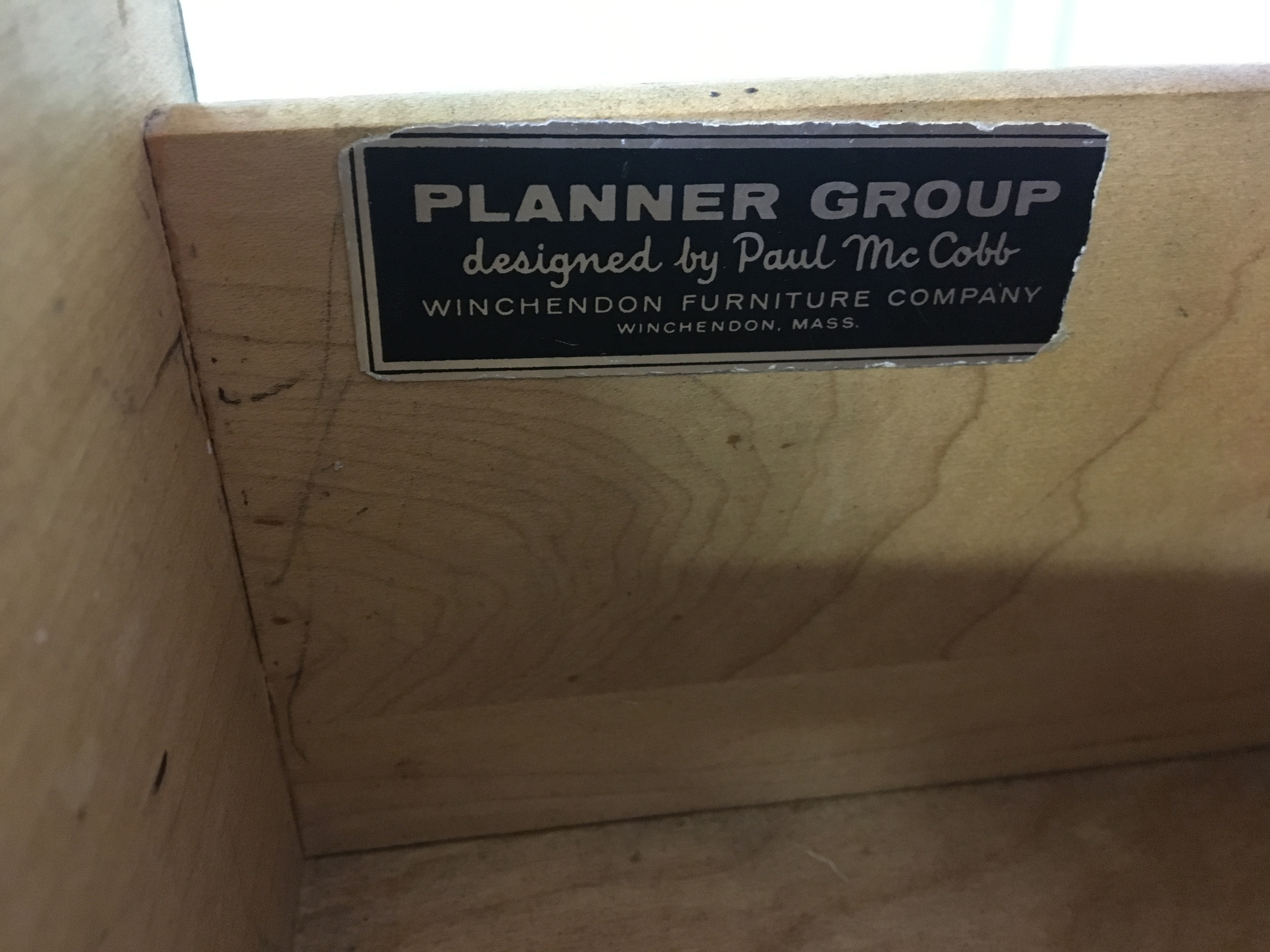 Planner Group Desk by Paul McCobb