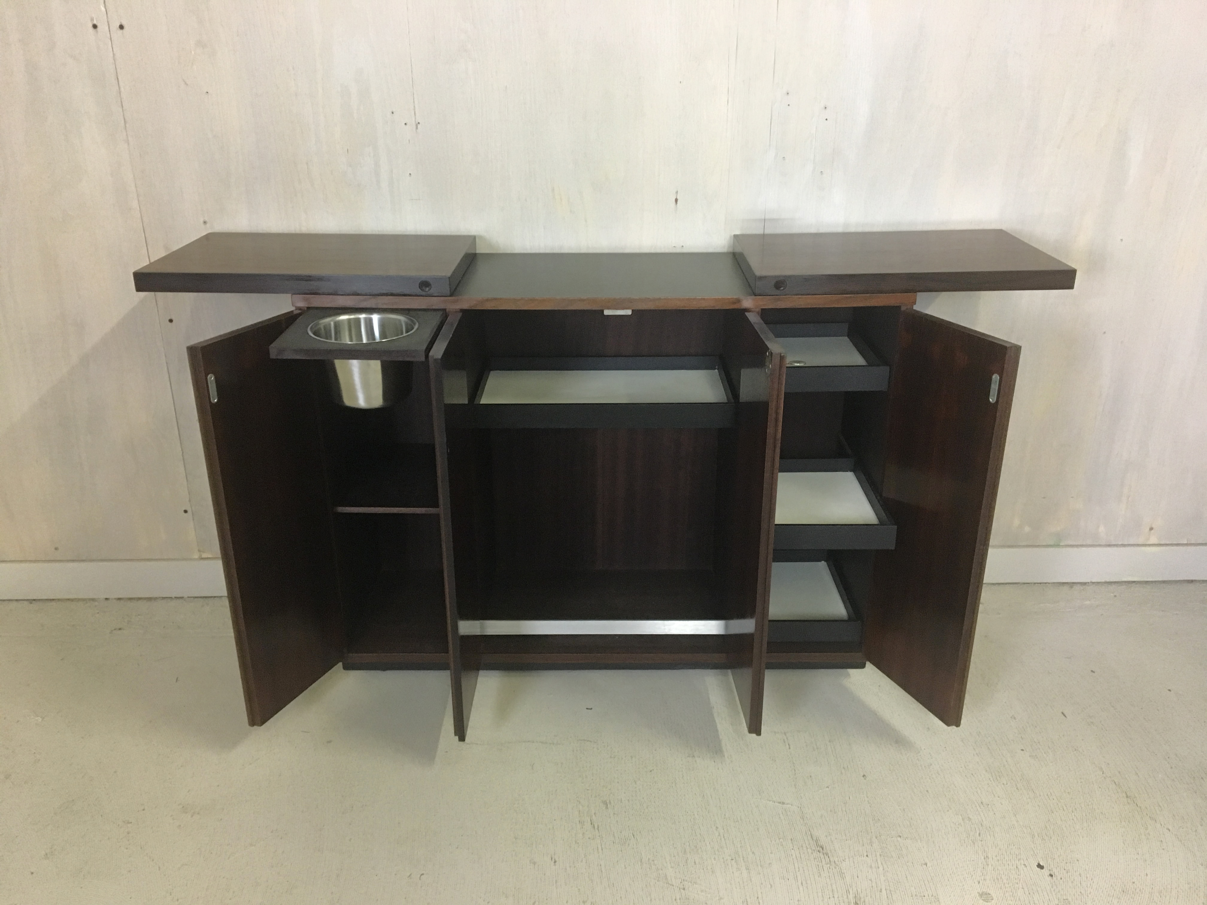 Danish Modern Rosewood Dry Bar by Dyrlund