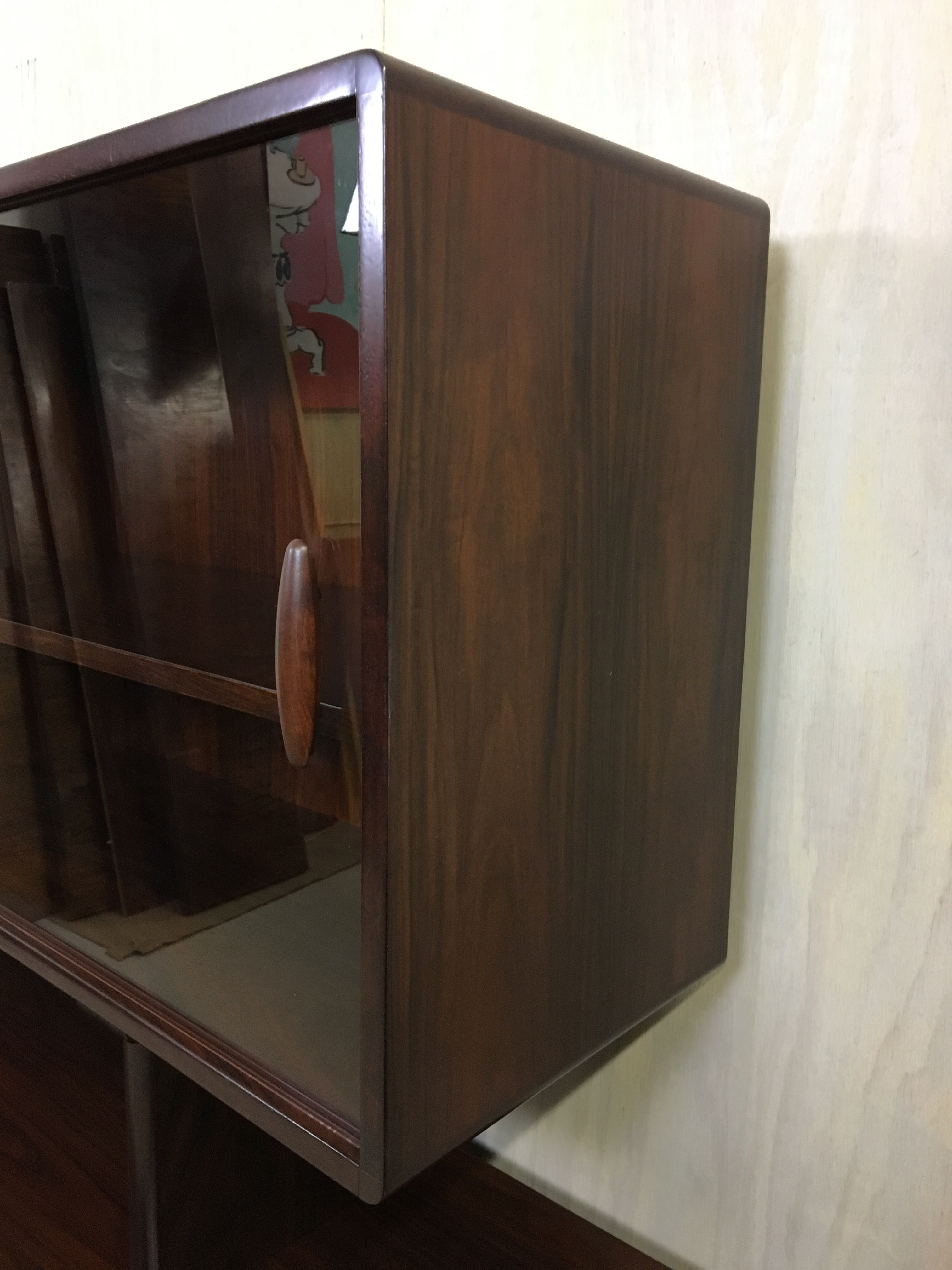 Dyrlund Rosewood China Cabinet/Credenza