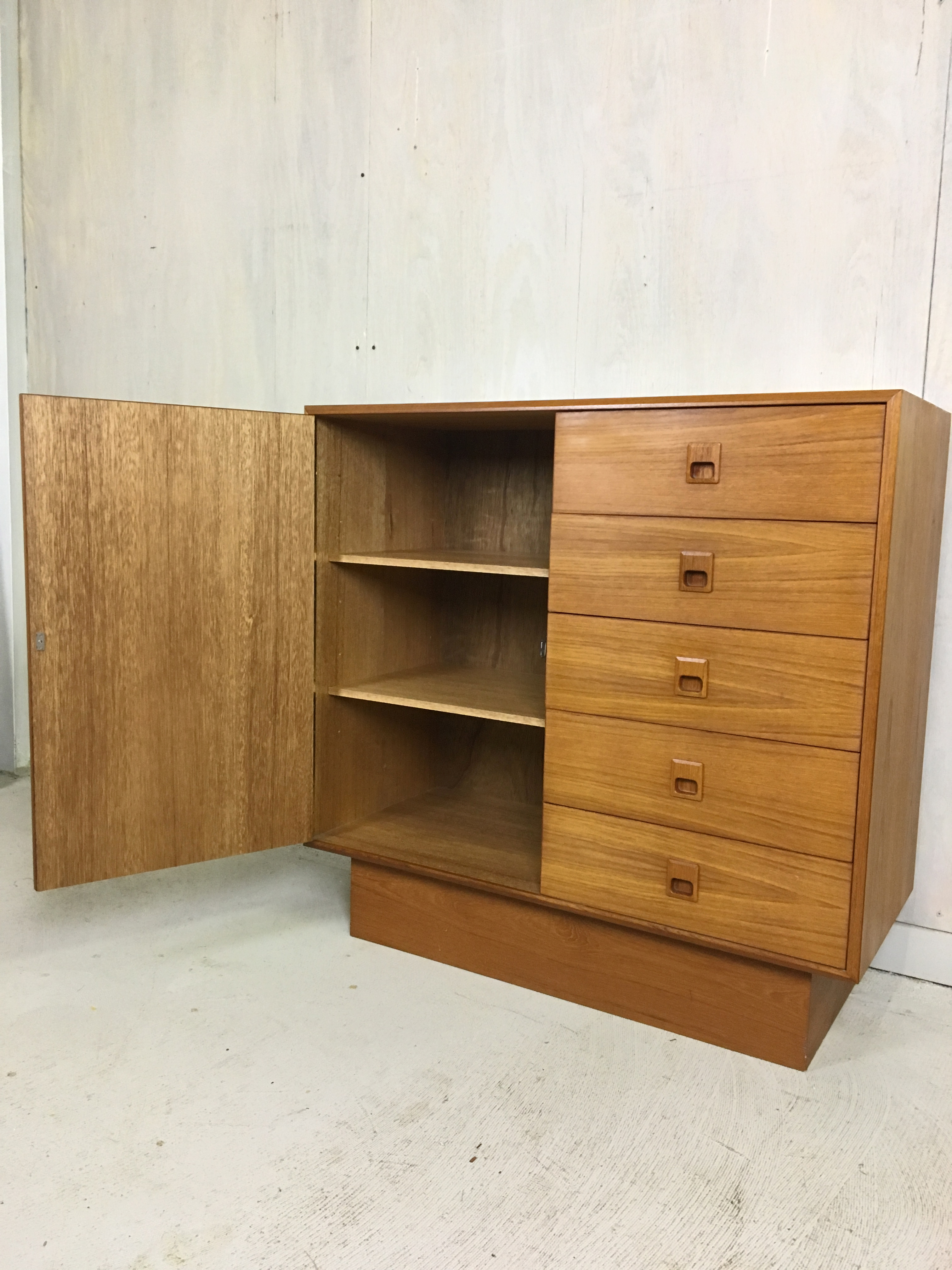 Danish Modern Teak Gentleman's Chest