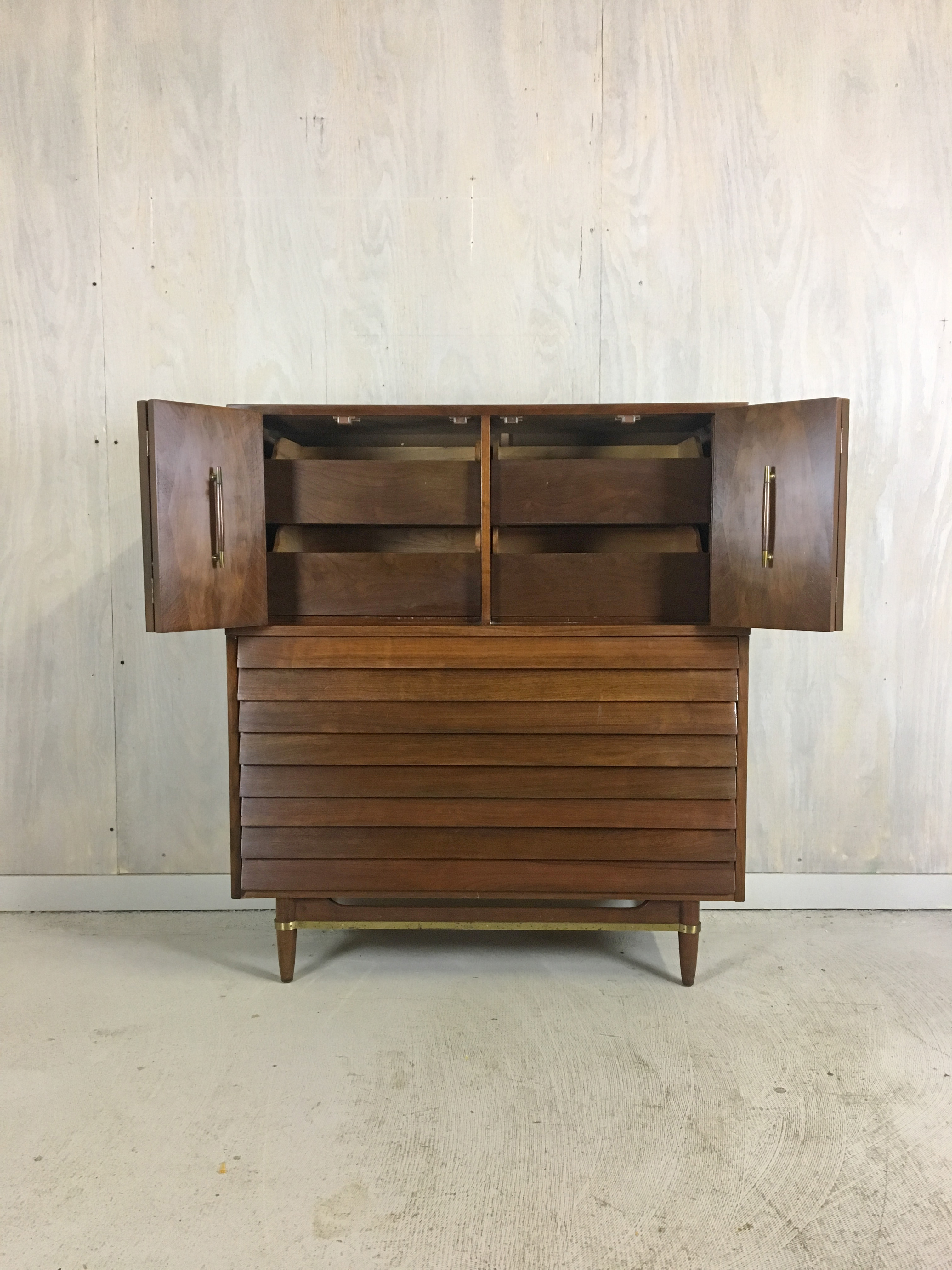 Dania Highboy for American of Martinsville by Merton Gershun