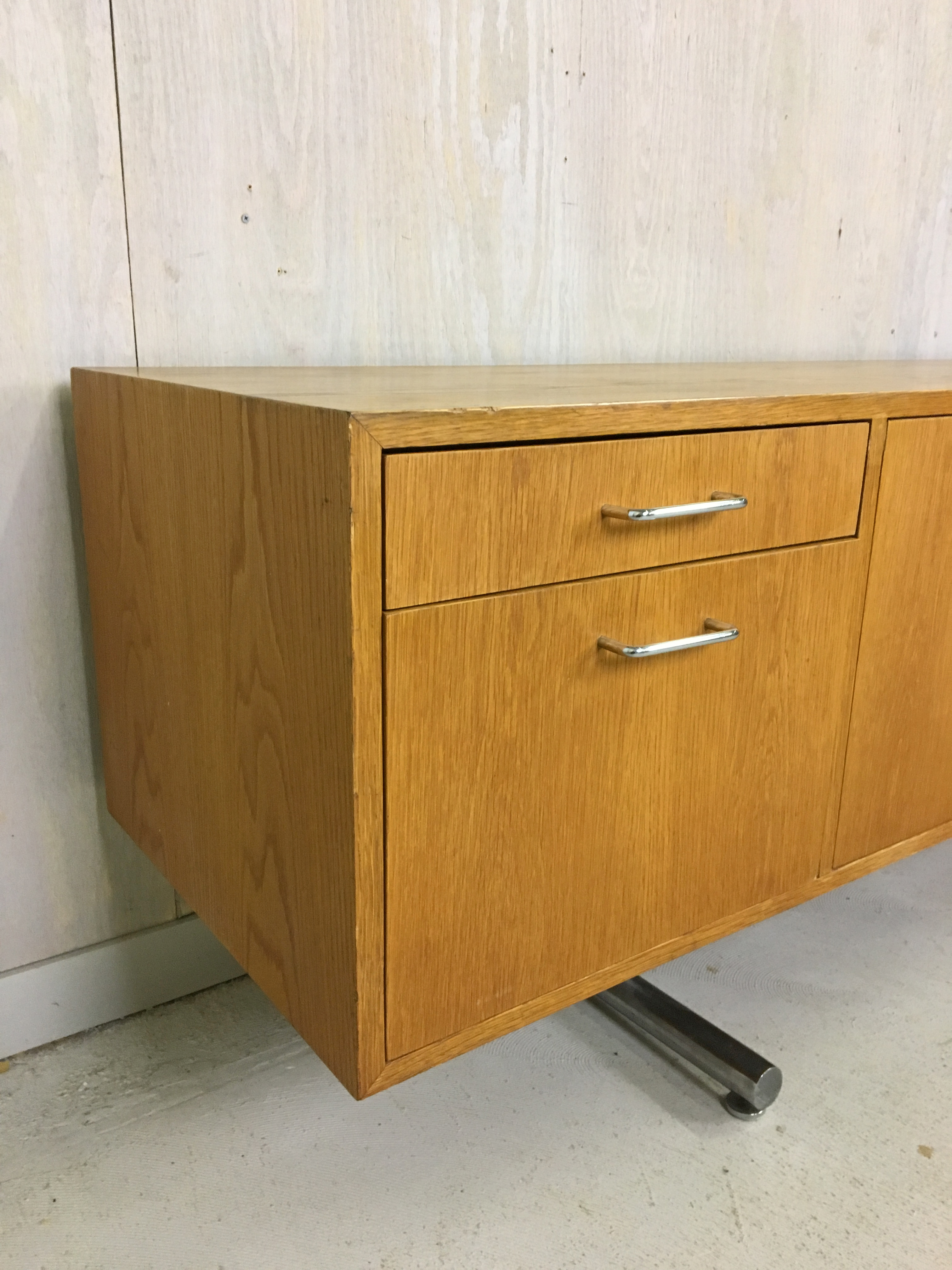Hans Eichenberger Oak Credenza for Stendig